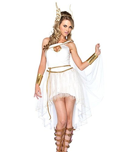 Luk Oil Halloween Venus Cosplay Costume Stage Performance Clothing White