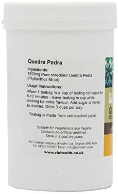 Rio Trading Quebra Pedra (Chança Piedra) Tee 40 x Teebeutel von Rio Trading bei Gewürze Shop