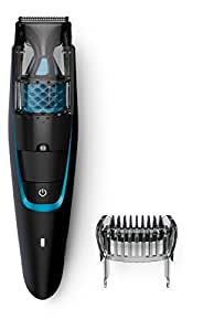 philips bt7206 15 vacuum beard trimmer black health perso. Black Bedroom Furniture Sets. Home Design Ideas