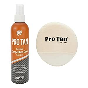 ProTan Pro Tan Overnight Competition Color Original Suntan Brown By Performance Brands