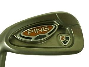 """Ping i10 7 iron Green (Steel AWT Stiff, +.5"""") LEFT 7i i-10 LH Club NEW"""