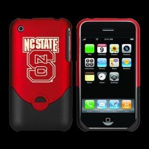 Football Fanatics North Carolina State Wolfpack Red Team Logo Iphone Duo Shell Case