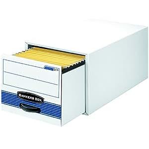 Bankers Box Stor/Drawer Steel Plus Storage Drawers, Legal, 6 Pack (00312)