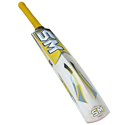 SM Sturdy Kashmir Willow Bat, Short Handle