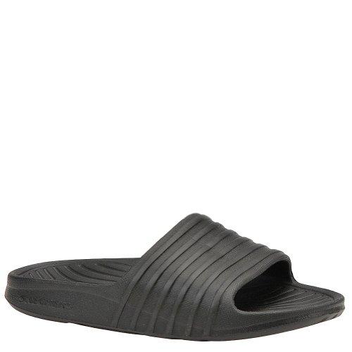 Skechers Sport Shore Womens Lightweight Foam Slides Sandals Black 9 front-897223