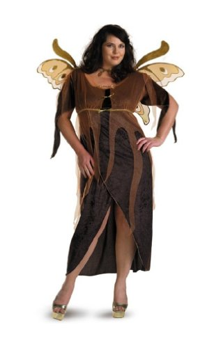 Autumn Fairy Plus Size Costume Dress Size 18-20