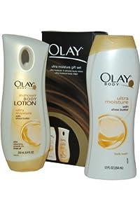 Olay Ultra Moisture Set Women Gift Set (Ultra Moisture Body Wash, Ultra Moisture Body Lotion)