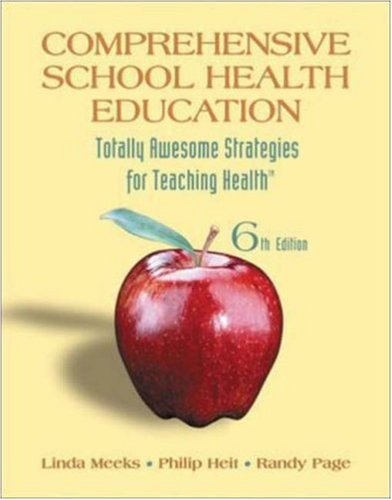 Comprehensive School Health Education