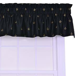 Ellis Curtain Fleur Di Lis Faux Silk Tailored