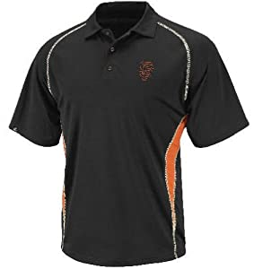 Majestic San Francisco Giants Athletic Advantage MLB Synthetic Polo Shirt by Majestic