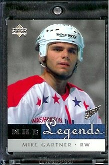 2001 /02 Upper Deck NHL Legends Hockey # 68 Mike Gartner Capitals - Mint Condition - In Protective Display Case ! - Buy 2001 /02 Upper Deck NHL Legends Hockey # 68 Mike Gartner Capitals - Mint Condition - In Protective Display Case ! - Purchase 2001 /02 Upper Deck NHL Legends Hockey # 68 Mike Gartner Capitals - Mint Condition - In Protective Display Case ! (Upper Deck, Toys & Games,Categories,Games,Card Games,Collectible Trading Card Games)