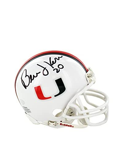 Steiner Sports Bernie Kosar Signed University Of Miami Replica Mini Helmet