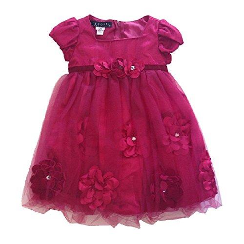 Biscotti Little Girls Dress Red (24M)