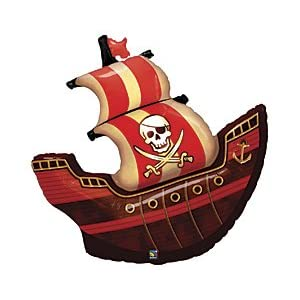 Click to buy Pirate Birthday Party Ideas: Pirate Ship 40