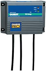 Guest 2611A Charge Pro Series Marine Battery Charger (12 24-Volt, 10-Amps 5 5, Double... by Guest