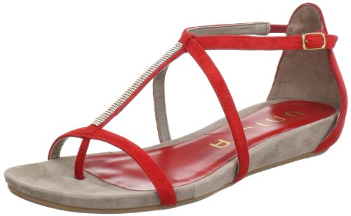 Unisa AINE_KS Sandals Women Red Rot (RED) Size: 6.5 (40 EU)