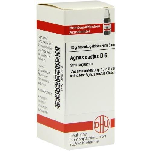 AGNUS CASTUS D 6 10g Globuli PZN:4202054