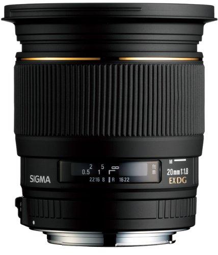 Sigma 20mm f/1.8 EX DG Lens Canon Fit