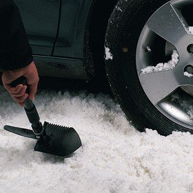 Cheap Compact Steel, Lightweight & Portable Folding Snow Shovel, from Betterware
