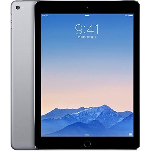 Apple iPad Air 2 Wi-Fiモデル 128GB MGTX2J/A アップル アイパッド エアー 2 MGTX2JA スペースグレイ