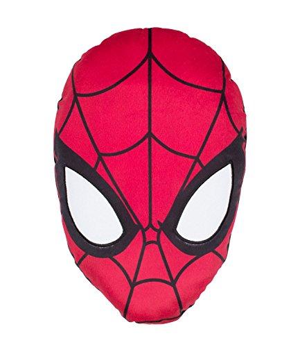 Spiderman Kissen - weiß -