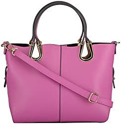 Moda King Women's Handbags (Pink) (ModaKing023)