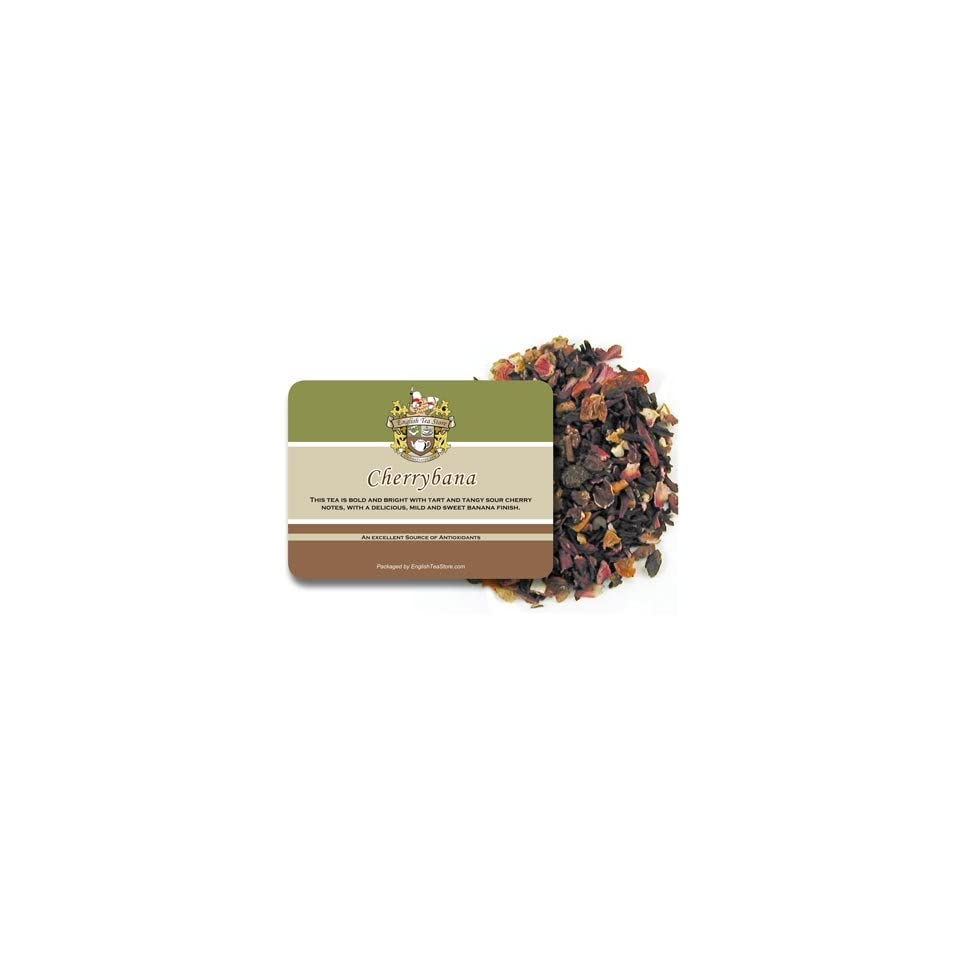 Cherrybana Herbal Tea   Loose Leaf   4oz