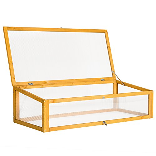 tectake fr hbeet aufsatz passend f r tectake hochbeet 402211 115 x 53 x 34 cm. Black Bedroom Furniture Sets. Home Design Ideas