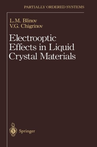 Electrooptic Effects in Liquid Crystal Materials (Partially Ordered Systems)