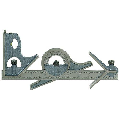 PEC 4 Piece Combination Square Set - Model: U-34 Blade Length: 12