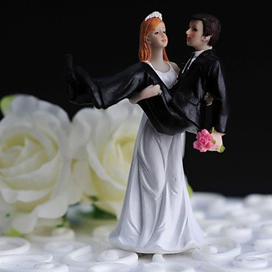 "MU ""Bride Take Groom Up"" Cake Topper"