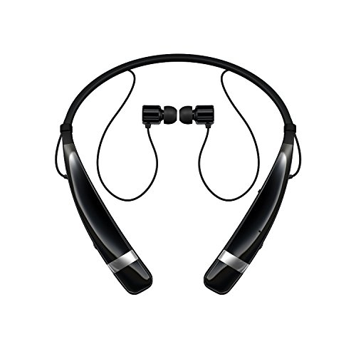 LG Electronics Tone Pro HBS-760 Bluetooth Wireless Stereo Headset - Black (Certified Refurbished) (Lg Electronics Tone Pro compare prices)