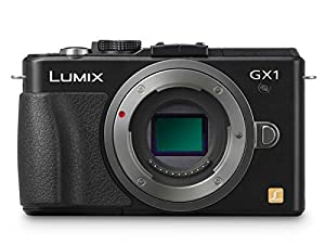 Panasonic Lumix DMC-GX1 16 MP Micro 4/3 Compact System Camera with 3-Inch LCD Touch Screen Body Only (Black) (Discontinued by Manufacturer)