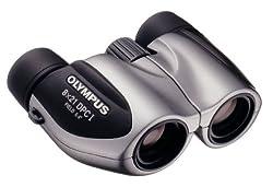 Olympus 118705 Roamer 8x21 DPC I Binocular (Silver)