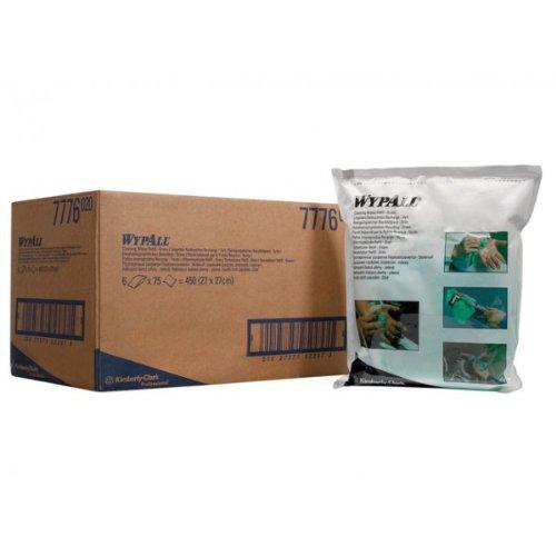 einwegtucher-kimberly-clark-wypall-nachfullpack-grun-spezial-reinigungstucher-1-lagig-1-beutel-x-75-