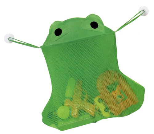 Frog Bathtub Toy Bag