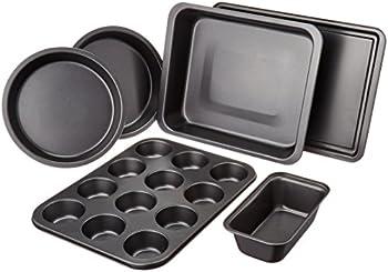 AmazonBasics 6-Pc. Bakeware Set