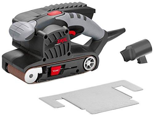 Skil-Bandschleifer-1215-AA-650-W-76-x-457-mm-automatische-Bandzentrierung-Schleifrahmen-Staubsauger-Adapter