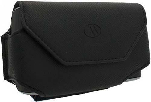 C&E Cne96155 Horizontal Leather Textured Abruzzi Pda Case For Milante - Mil-330Bk1 - Retail Packaging - Black