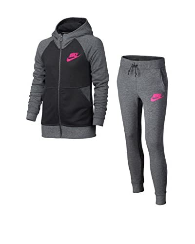 Nike Chándal G Nsw Trk Suit Ft Gris