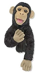 Bananas the Chimp Puppet Bananas the Chimp Puppet from Melissa and Doug