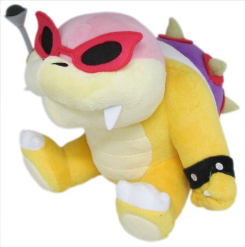 "Little Buddy Super Mario Series Roy Koopa 6"" Plush - 1"