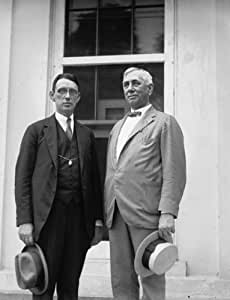 1922 September 6. photograph of Thos. Branch Adams & D.R. Crissinger, 9/6/22 d7