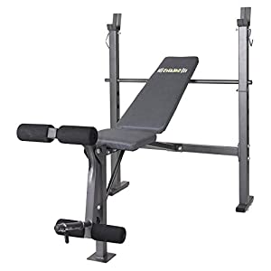 Body Champ BCB680 Mid-Width Weight Bench with Leg Developer