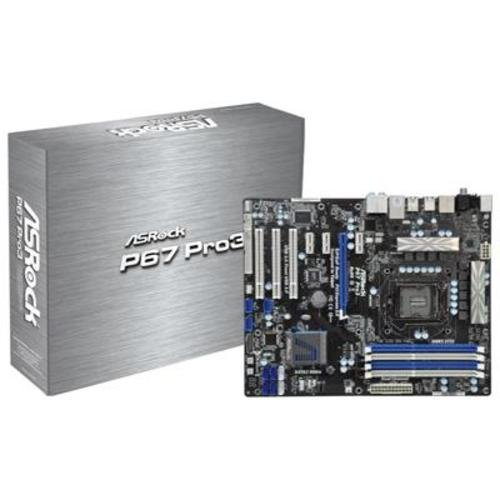 Asrock Socket 1155 P67 PRO3 Includes Sound and LAN