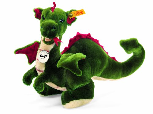 Steiff 40cm Rocky Dragon (Green)