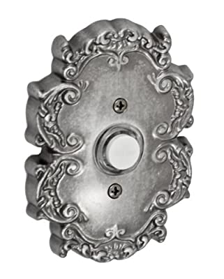 Fusion Hardware BEL-C8-ATP Designer Collection Victorian Doorbell, Antique Pewter, 1-Pack