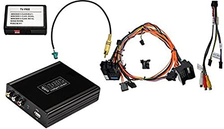 usblogic Pack complet sur Most Systèmes de Base pour Mercedes COMAND APS ntg2incl. P & P Jeu de câbles