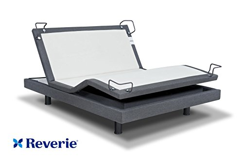 Reverie 7S Adjustable Bed From The Makers Of The Tempurpedic Ergo W/ Bluetooth Option (Queen, With Bluetooth) (Adjustable Bed Remote compare prices)