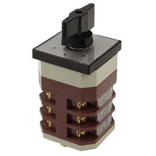 Universal Rotary Handle Cam Combination Switch, Ac 500V / 16A (Lw12-16/4)